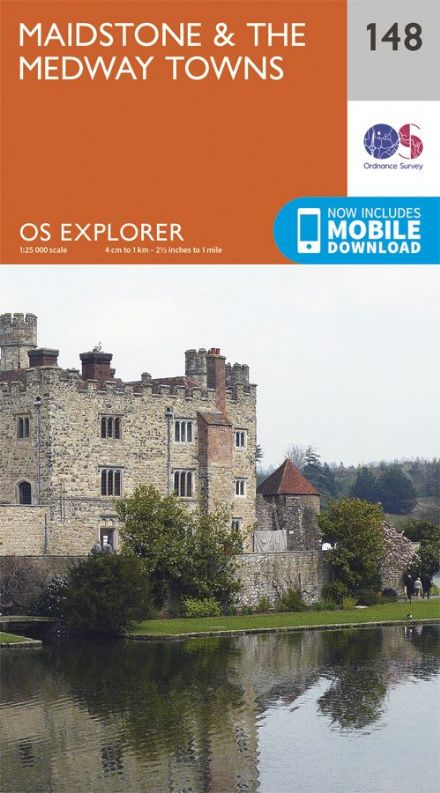 OS Explorer 148 - Maidstone & The Medway Towns.